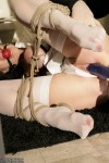 Ashley Renee penetrated in bondage