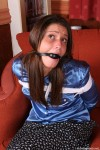 British amateurs bound and gagged at home
