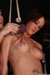 Humiliation and torture of slave Dannii