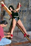 Humiliated Ashley Renee tortured and abused in the dungeon