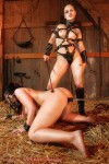 Blood Angel Lilith dominates pony slave Jill Diamond